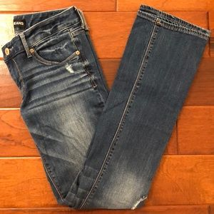 Low Rise Barely Boot Stella Express Jeans Size 4 R